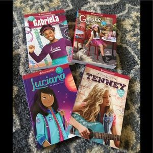 American Girl and Diary of a Wimpy Kid(5 books)